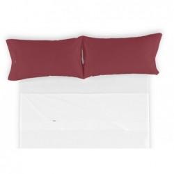 Funda de almohada COMBI LISOS. Es-Tela 031-VINO