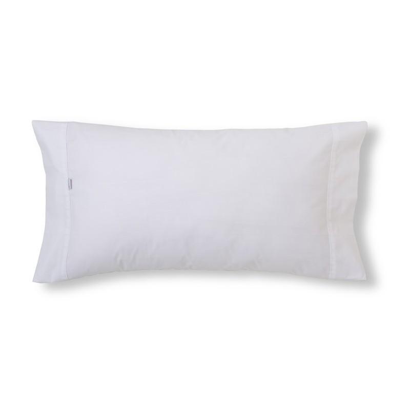 Funda de almohada COMBI LISOS BIÉS. 100% algodón (200 hilos). Es-Tela 001-BLANCO