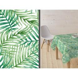 Mantel resinado Tahiti verde