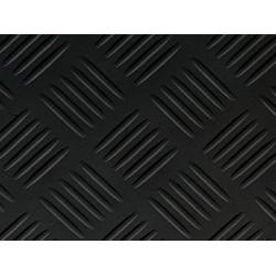Suelo de P.V.C. Rayas Negro