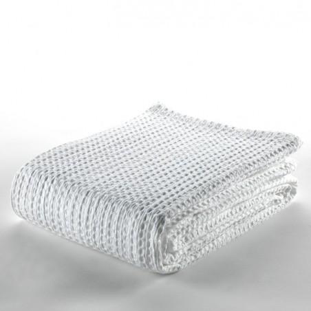 Colcha cubrecama tejida Banús 001-BLANCO